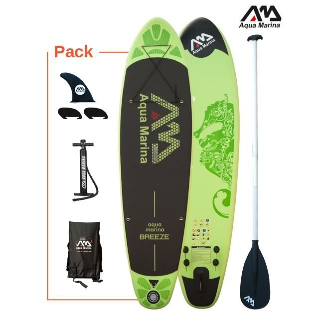 TABLA DE PADDLE SURF HINCHABLE AQUA MARINA BREEZE 1